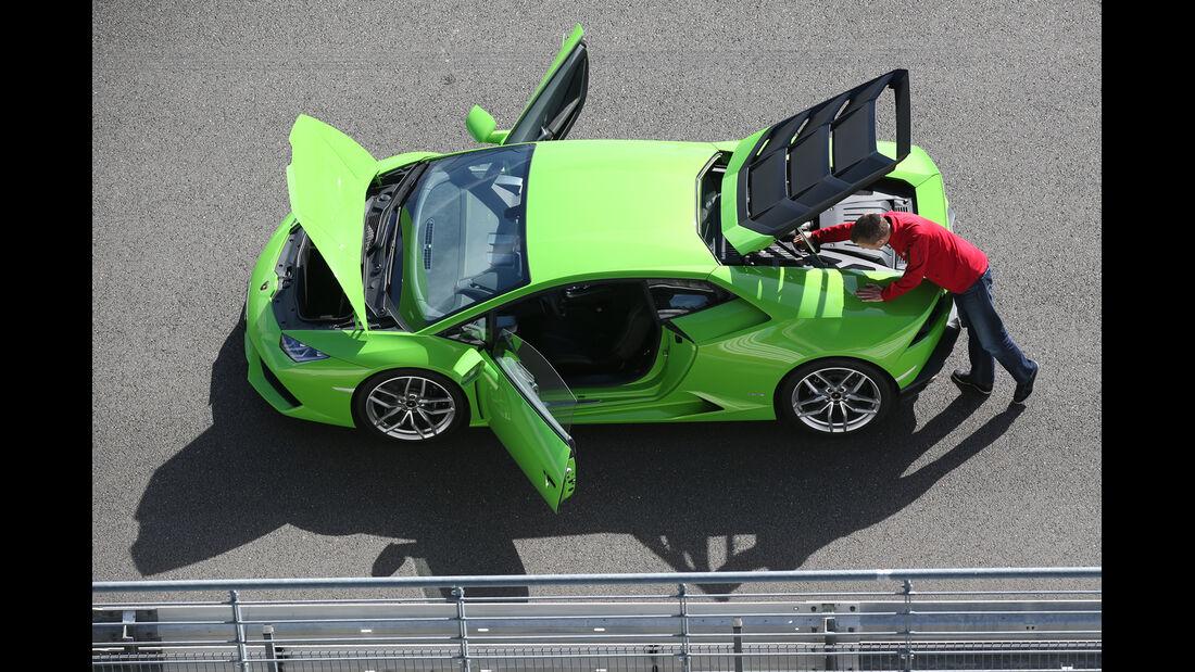 Lamborghini Huracán LP 610-4, Türen offen