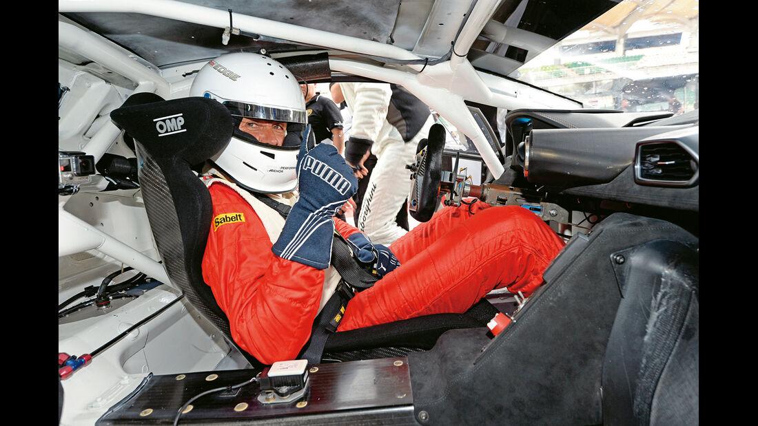 Lamborghini Huracán LP 620-2 Super Trofeo, Cockpit, Marcus Schurig