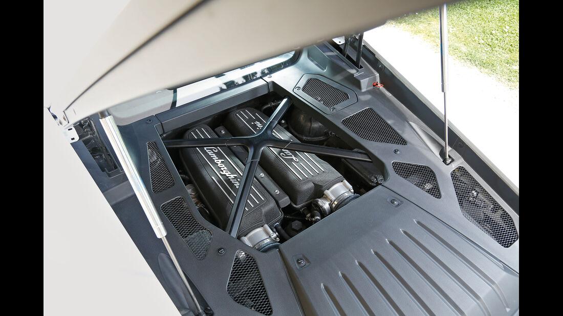 Lamborghini Huracán, Motor