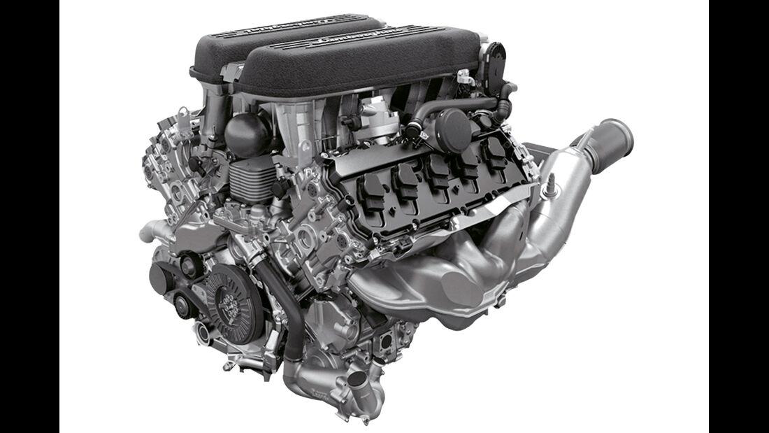 Lamborghini Huracán, Motor, V10