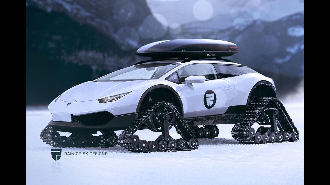 Lamborghini Huracán Offroad - Fantasie-Auto