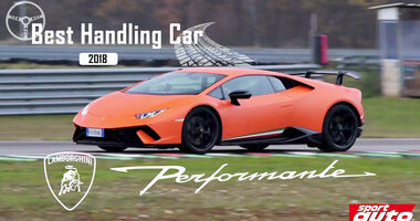 Lamborghini Huracán Performante, Best Handling Car 2018, sport auto