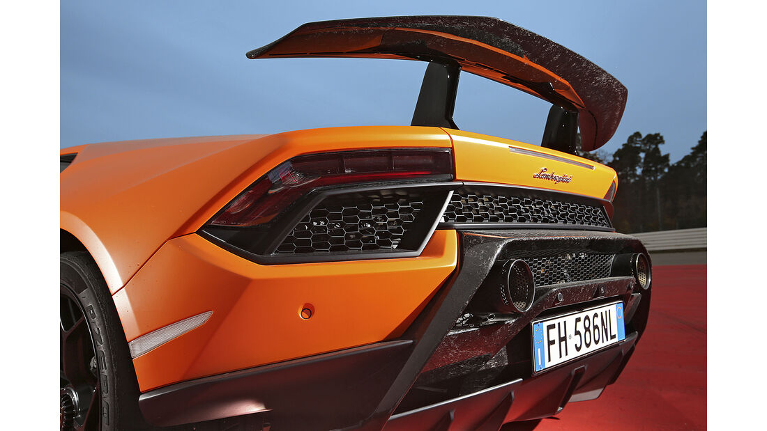 Lamborghini Huracán Performante, Exterieur