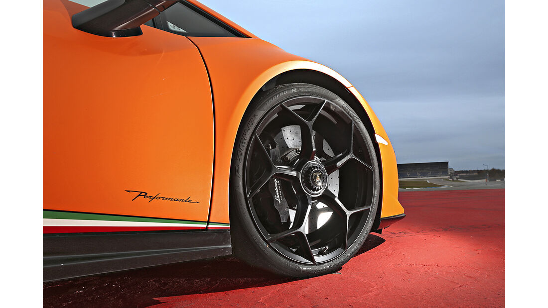 Lamborghini Huracán Performante, Felge