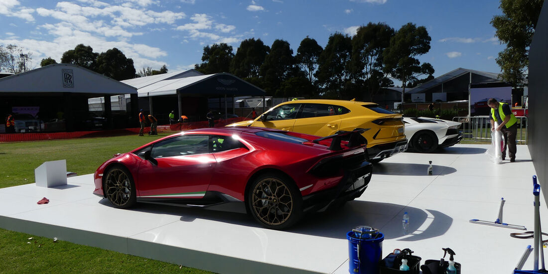 Lamborghini Huracán Performante - GP Australien 2018 - Melbourne - Albert Park - Mittwoch - 21.3.2018