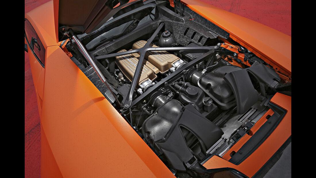 Lamborghini Huracán Performante, Motor