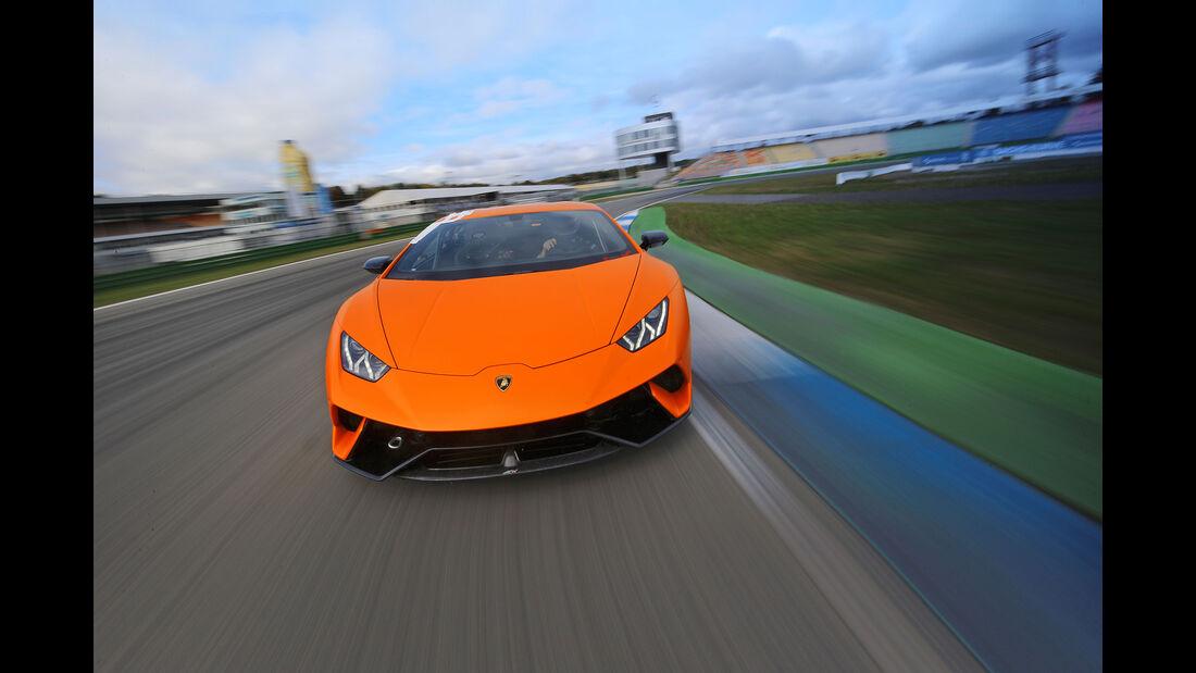 Lamborghini Huracán Performante - Supersportwagen - Supertest - Hockenheim