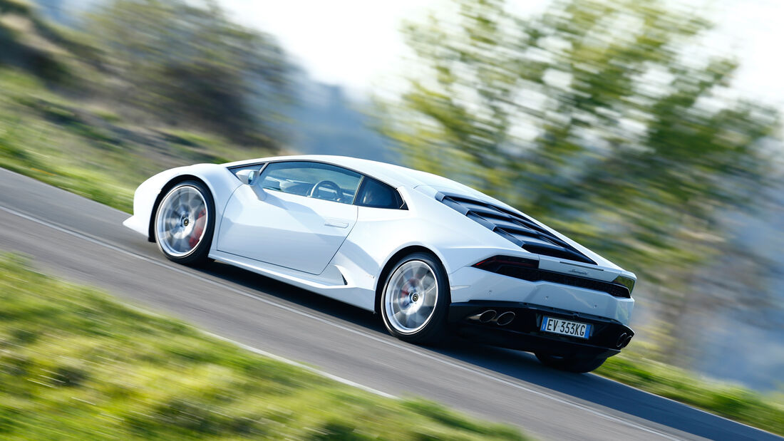 Lamborghini Huracán, Seitenansicht
