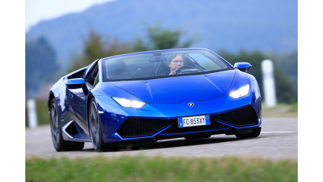 Lamborghini Huracán Spyder, Frontansicht