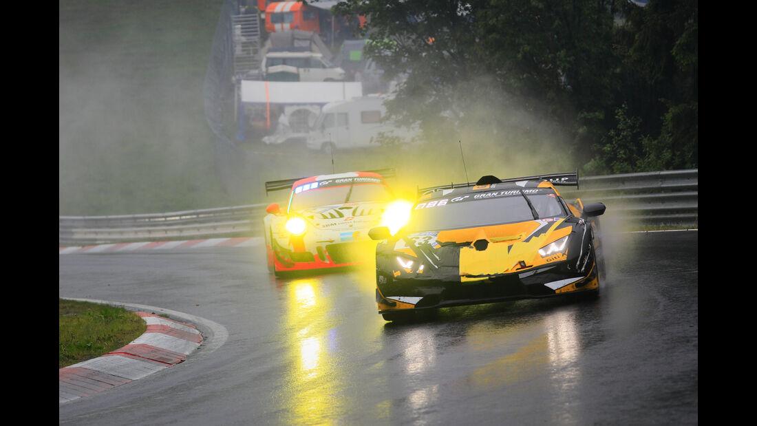 Lamborghini Huracán Super Trofeo Evo - Startnummer #63 - 24h-Rennen Nürburgring 2018 - Nordschleife - 13.5.2018