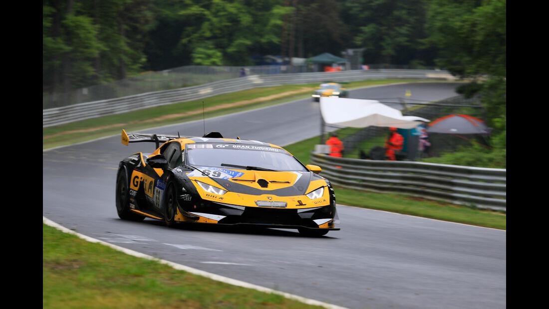 Lamborghini Huracán Super Trofeo Evo - Startnummer #69 - 24h-Rennen Nürburgring 2018 - Nordschleife - 13.5.2018