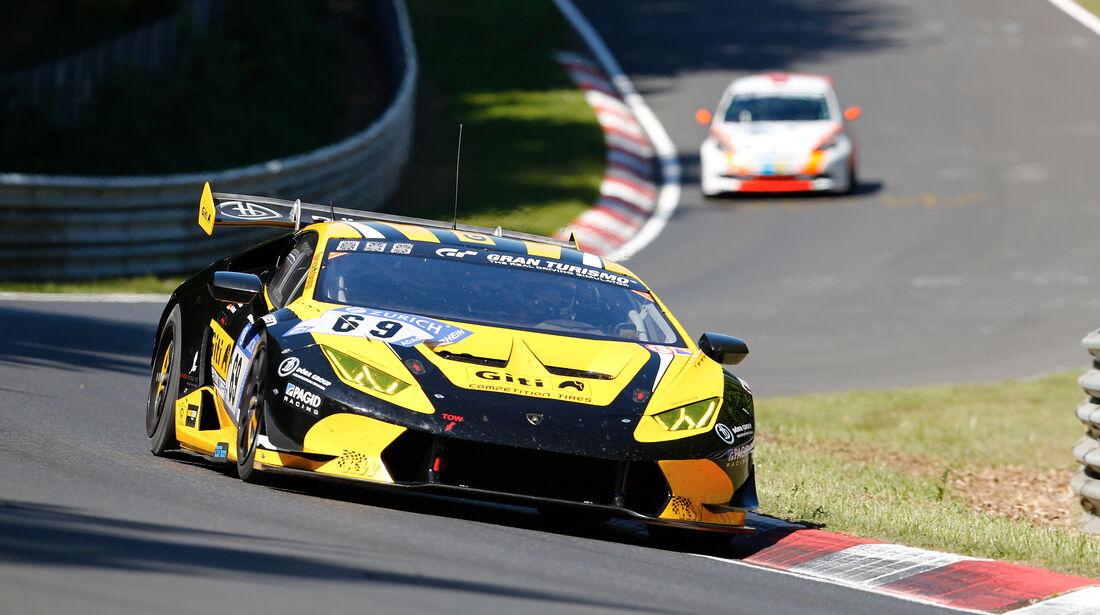 Lamborghini Huracán Super Trofeo - Startnummer #69 - 2. Qualifying - 24h-Rennen Nürburgring 2017 - Nordschleife