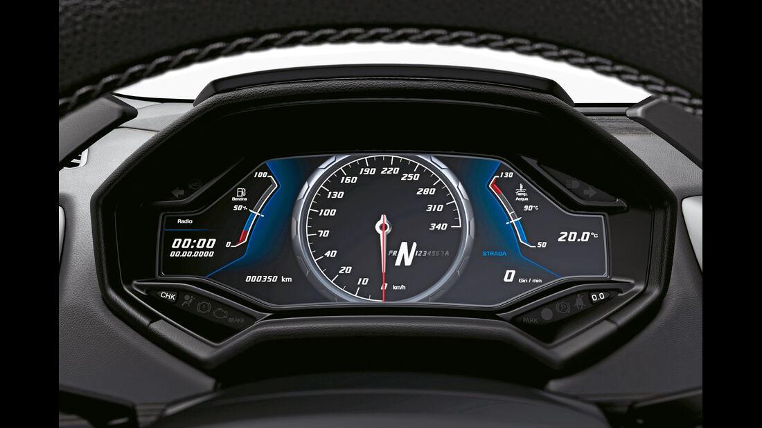 Lamborghini Huracán, TFT-Display, Rundinstrumente
