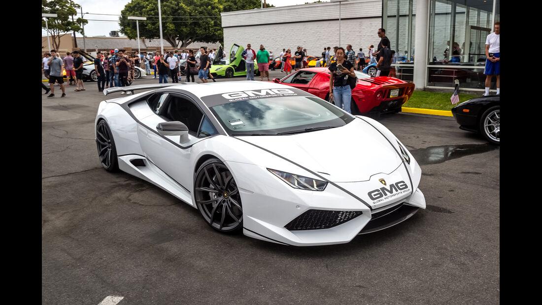 Lamborghini Huracan - 200 mph Supercarshow - Newport Beach - Juli 2016