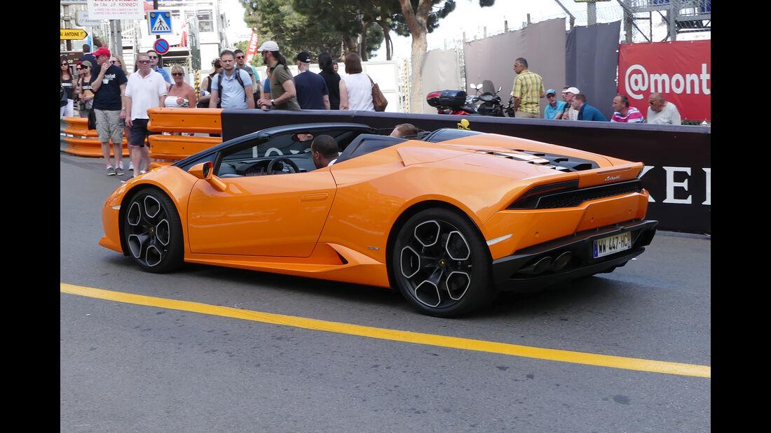 Lamborghini Huracan - Carspotting - GP Monaco 2016