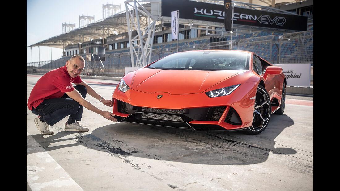 Lamborghini Huracan Evo, Front
