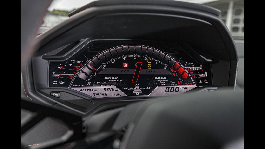 Lamborghini Huracan Evo, Interieur