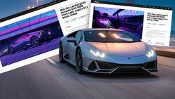 Lamborghini Huracan Evo Lady Gaga Verlosung
