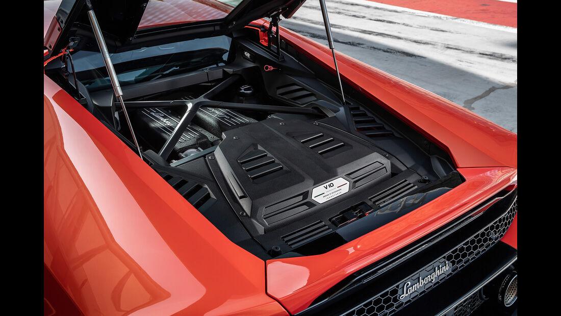 Lamborghini Huracan Evo, Motor, V10