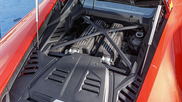 Lamborghini Huracan Evo, Motorraum