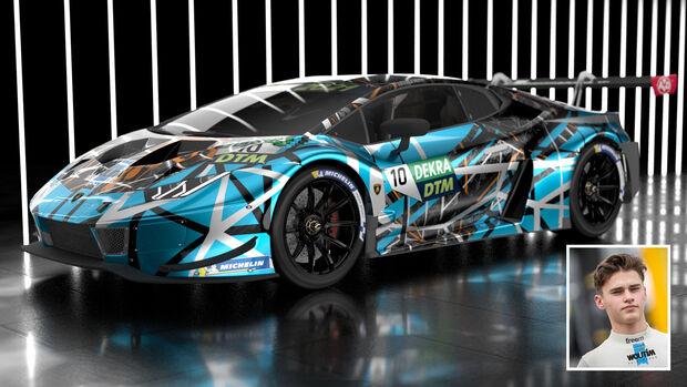 Lamborghini Huracan GT3 - DTM - T3 Motorsport - Esteban Muth - 2021