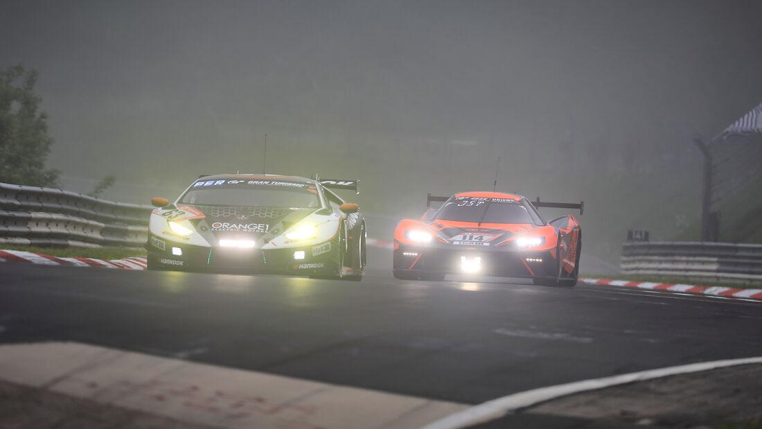 Lamborghini Huracan GT3 Evo - FFF Racing Team - Startnummer #63 - 24h-Rennen Nürburgring - Nürburgring-Nordschleife - 6. Juni 2021