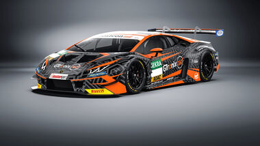 Lamborghini Huracan GT3 Evo - mcchip-dkr Team - ADAC GT Masters - 2020