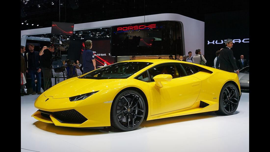 Lamborghini Huracan, Genfer Autosalon, Messe, 2014
