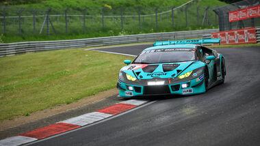 Lamborghini Huracan Gt3 - Startnummer 19 - 24h Rennen Nürburgring - Nürburgring-Nordschleife - 3. Juni 2021
