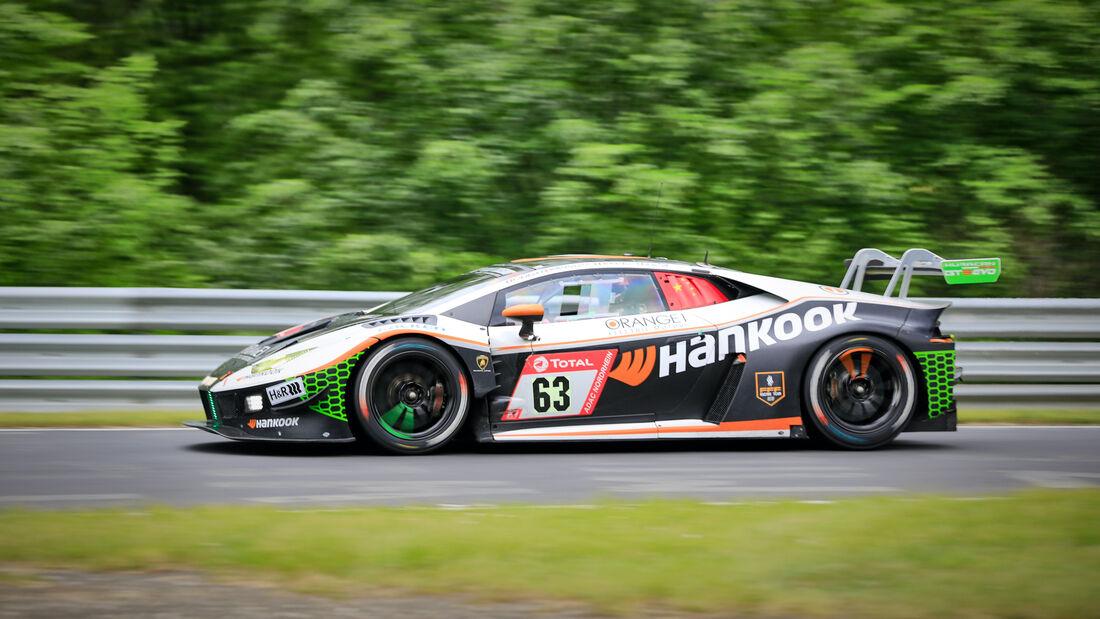 Lamborghini Huracan - Hankook FFF Racing Team - Startnummer 63 - 24h Rennen Nürburgring - Nürburgring-Nordschleife - 4. Juni 2021