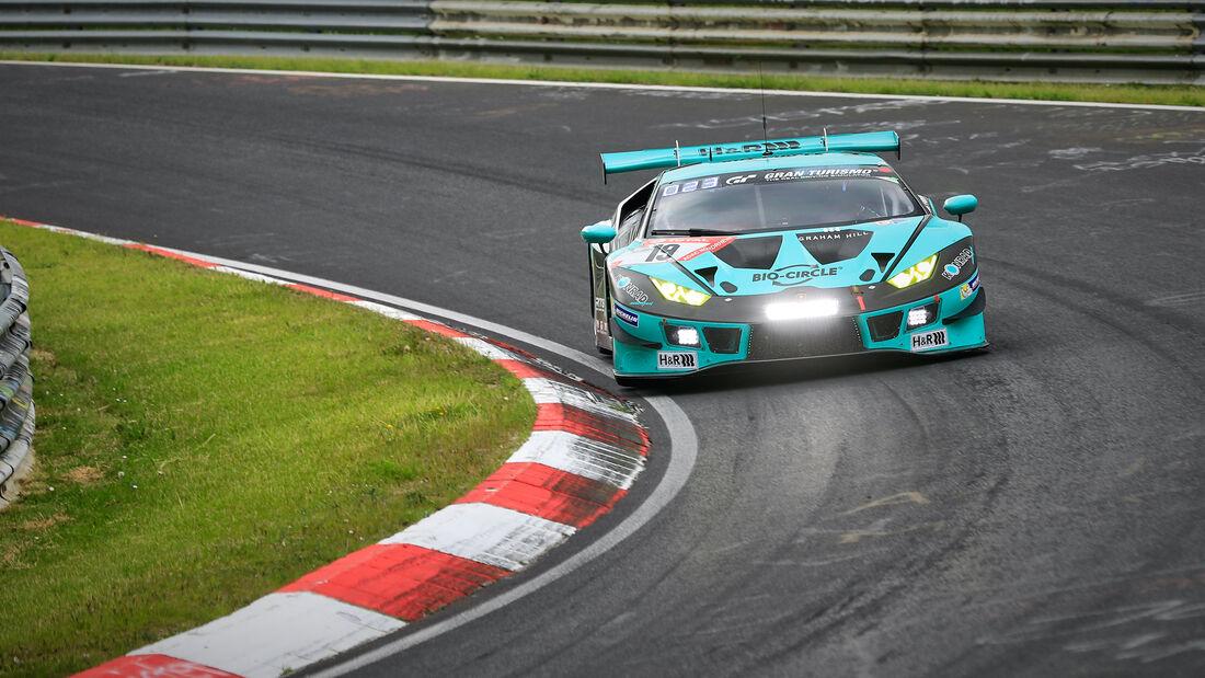 Lamborghini Huracan - Konrad Motorsport - Startnummer 19 - 24h Rennen Nürburgring - Nürburgring-Nordschleife - 4. Juni 2021