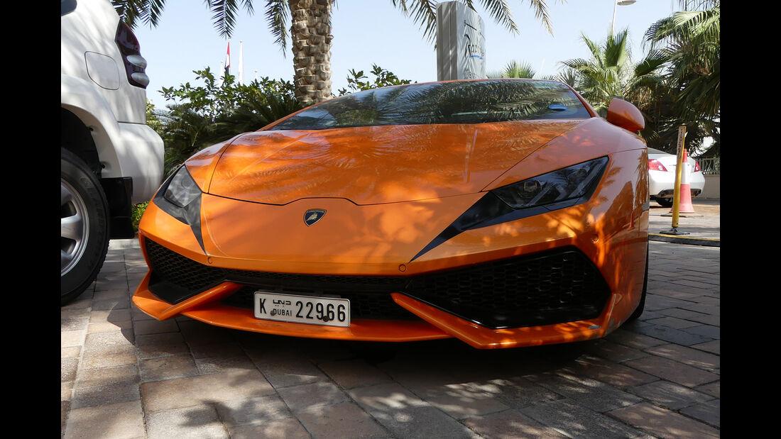 Lamborghini Huracan LP 610-4 - Carspotting - GP Abu Dhabi 2016