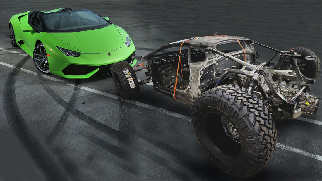 Lamborghini Huracan Offroad Umbau