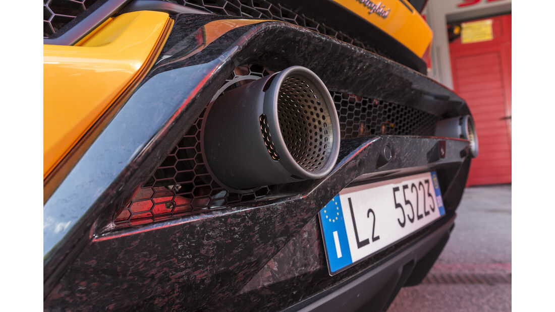 Lamborghini Huracan Performante Endrohre