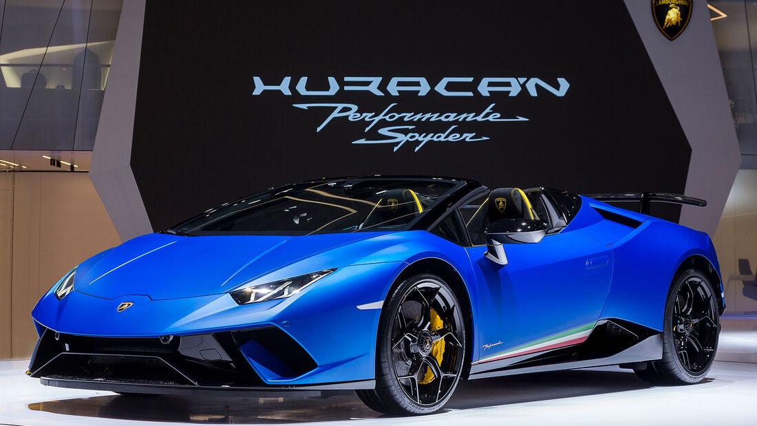 Lamborghini Huracan Performante Spyder (2018)