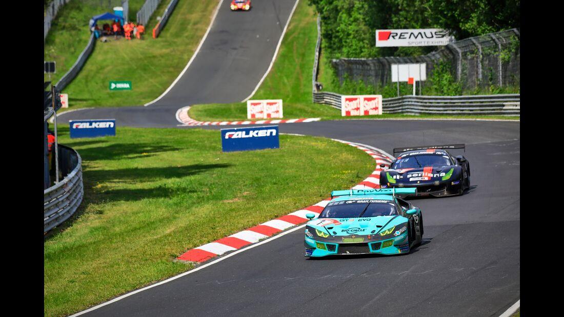 Lamborghini Huracan - Startnummer #7 - 24h Rennen Nürburgring - 22. Juni 2019