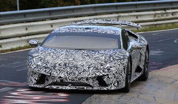 Lamborghini Huracan Superleggera Erlkönig