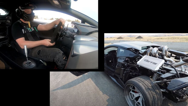 Lamborghini Huracan Umbau Handschalter Turbo Heck weg