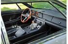 Lamborghini Jarama 400 GT, Lenkrad, Cockpit