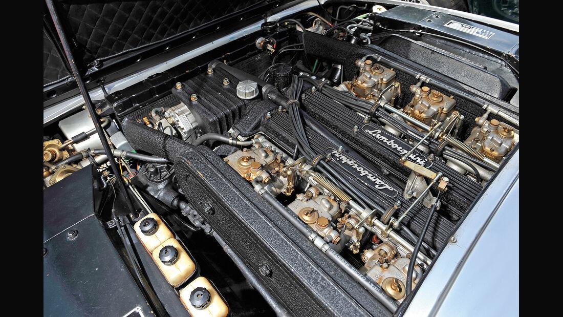 Lamborghini Jarama 400 GT, Motor