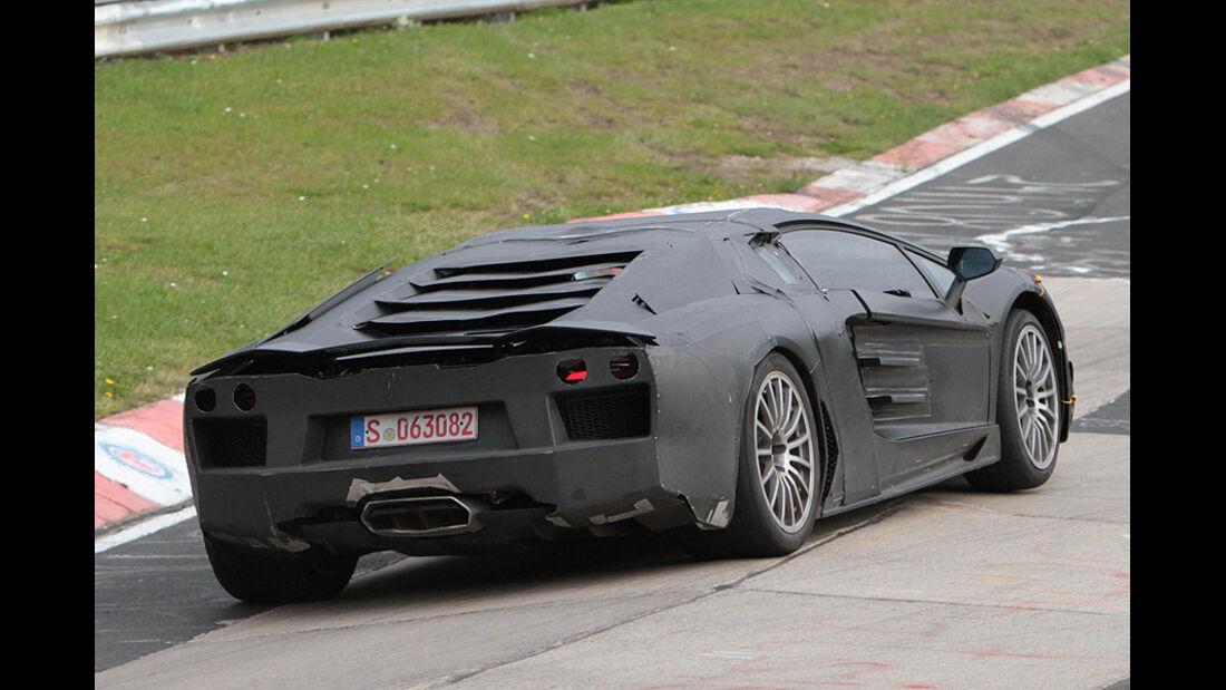 Lamborghini Jota Erlkönig