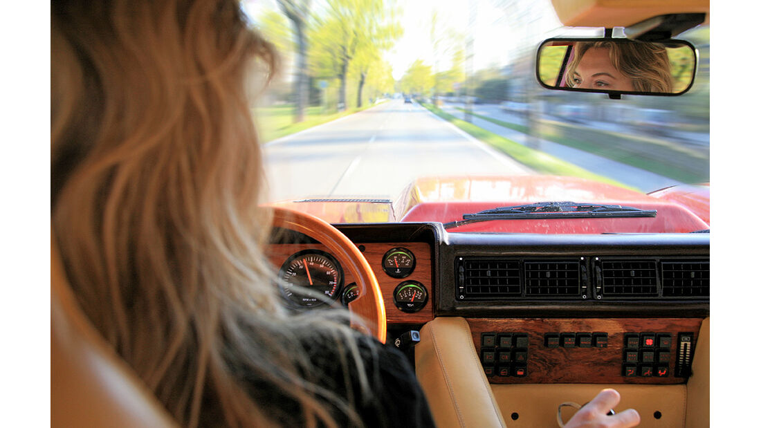Lamborghini LM 002 Armaturenbrett