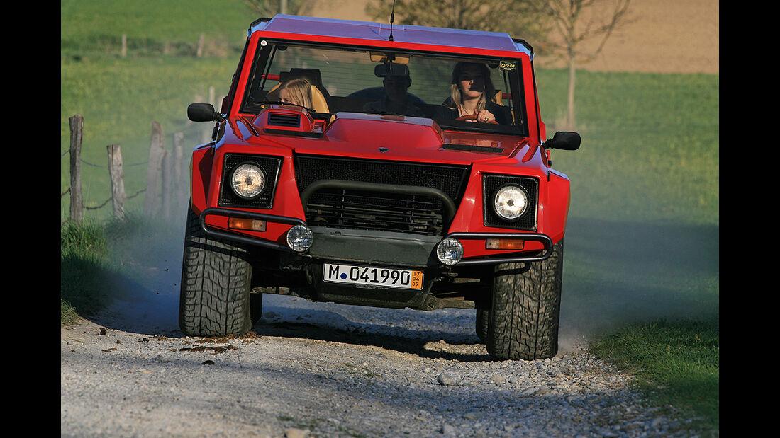 Lamborghini LM 002 Front