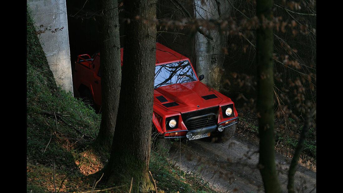 Lamborghini LM 002 im Gelände