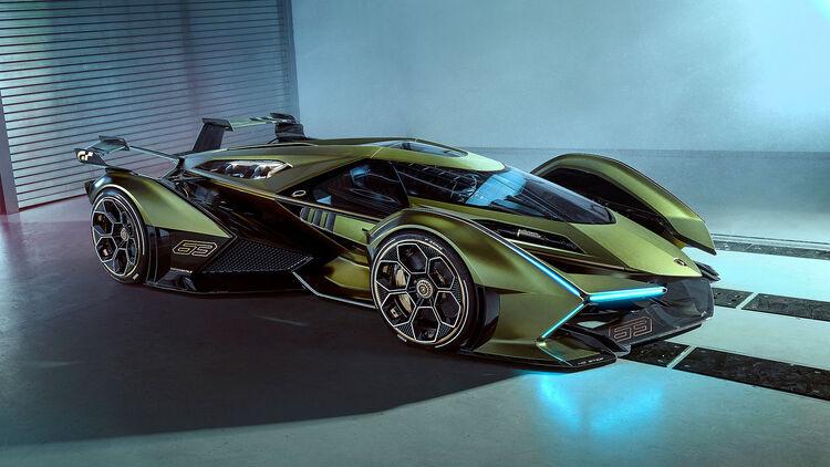 Lamborghini Lambo V12 Vision Gran Turismo Vorgestellt Auto Motor Und Sport