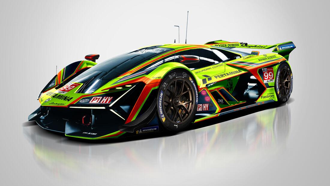 Lamborghini - Le Mans - Protoyp - Concept - Hypercar / LMDh - Sean Bull