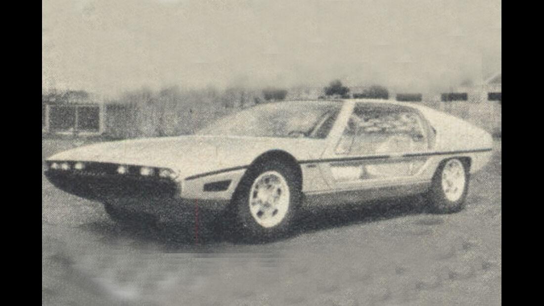 Lamborghini, Marzal, IAA 1967