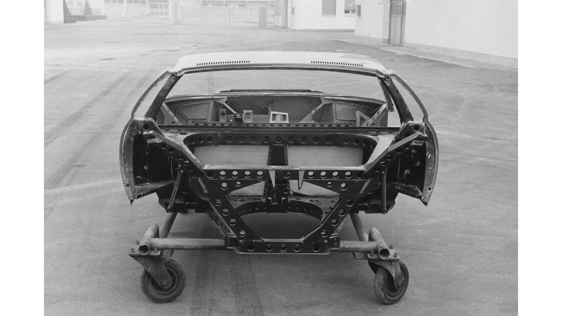 Lamborghini Miura - 50 Jahre - Chassis