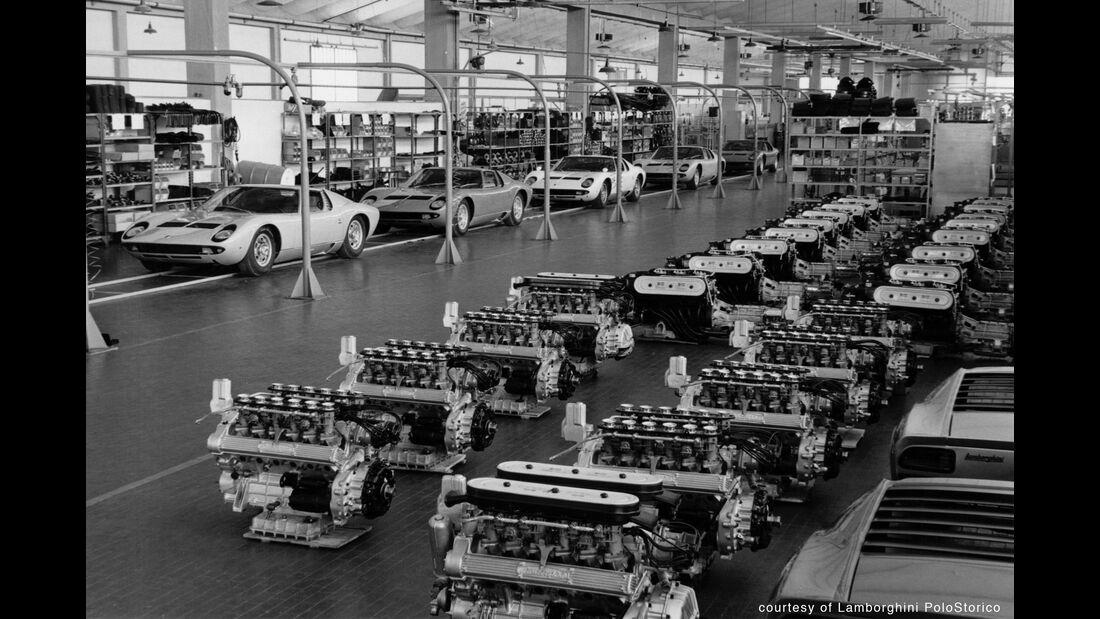Lamborghini Miura 50 Jahre - Sportwagen - V12 - Produktion