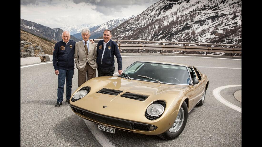 Lamborghini Miura - 50 Jahre - Stanzani - Gandini - Dallara